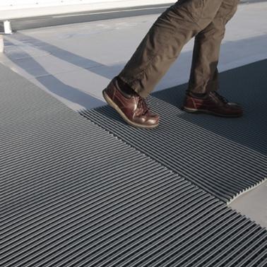 Crossgrip Roof Walkway Matting Pvc 10 Metre Rolls Areco