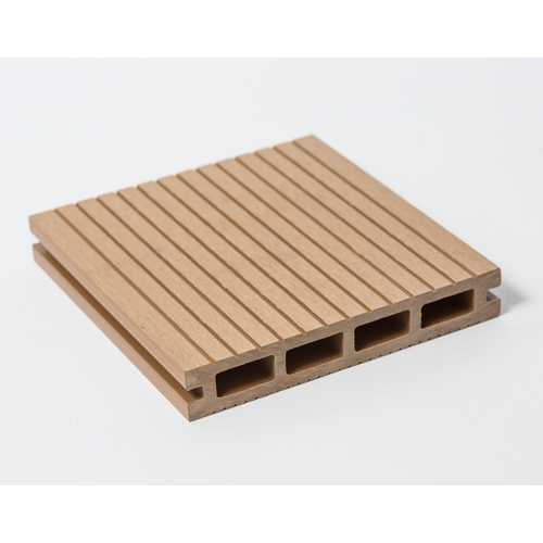 Teak Composite Decking Plank 140mm X 5900mm X23mm Areco